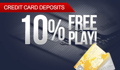 Credit Card 10% Free Play