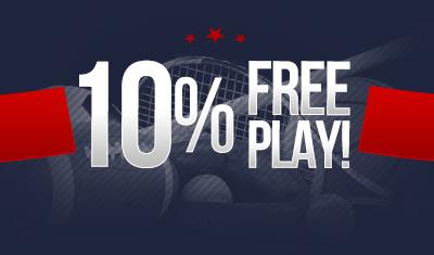 10% Free Play