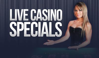 Live Casino Sign-up Bonuses & Reload Bonuses