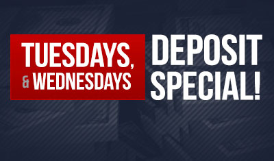 Tuesdays & Wednesdays promo