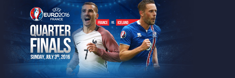 Euro 2016 Quarter Finals: France vs. Iceland