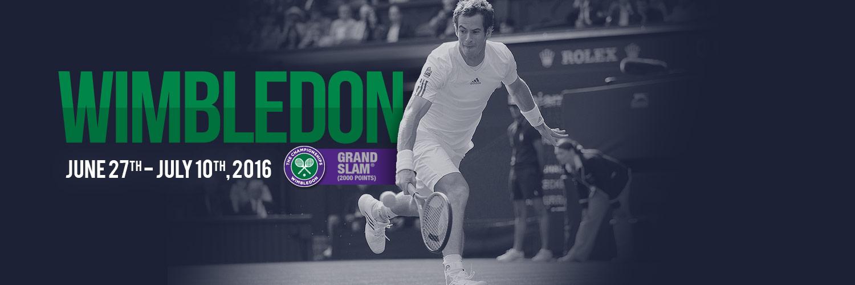 Bet on Wimbledon 2016