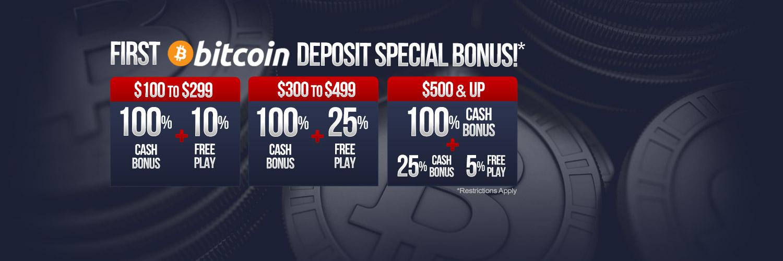 Bitcoin Deposit Bonus!