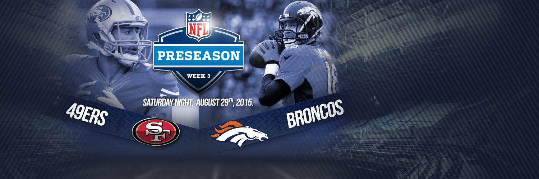 NFL Preseason Week 3 Saturday