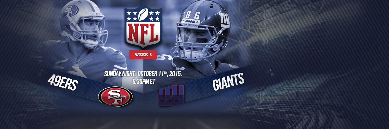 SNF - 49ers vs Giants