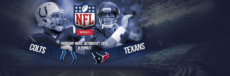 TNF - Colts vs Texans