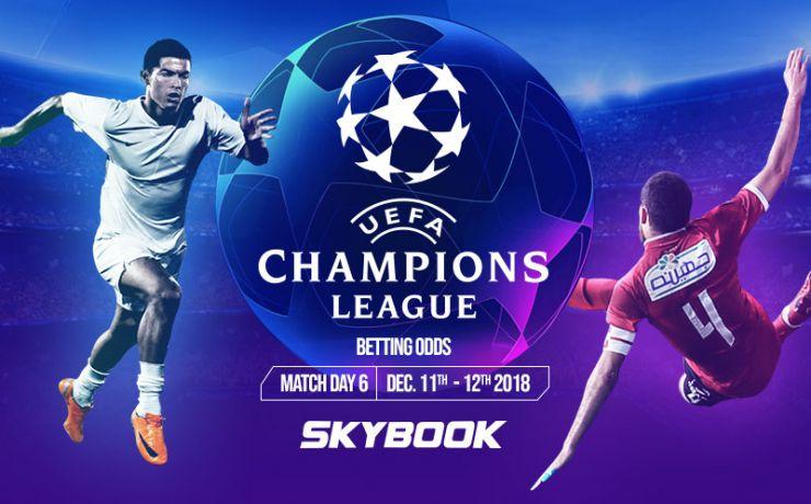 uefa champion league betting odds