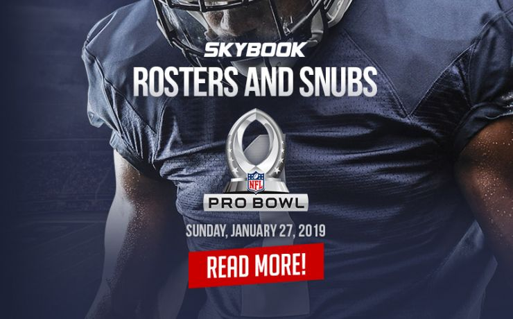 f3304546 2019 NFL Pro Bowl Rosters and Snubs, Football Betting Odds