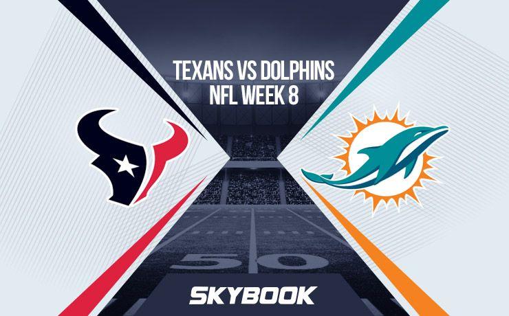 NFL Week 8: Thursday Night Football Texans vs Dolphins