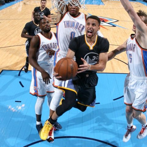 Warriors vs Thunder: Western Conference Finals Game 4