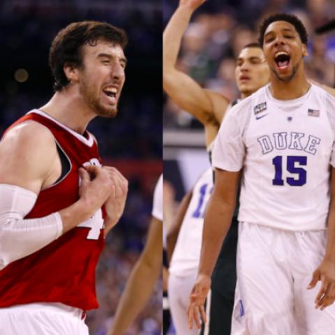 College Basketball Championship Duke vs Wisconsin