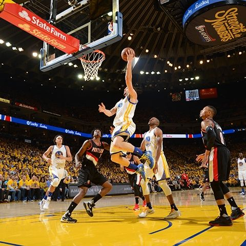 Warriors vs Trail Blazers