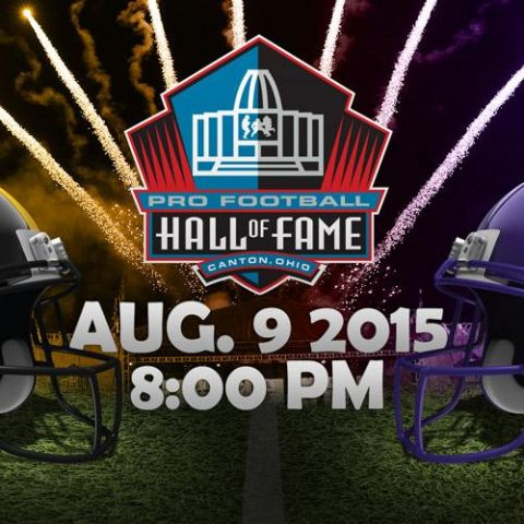 The NFL Hall of Fame Game