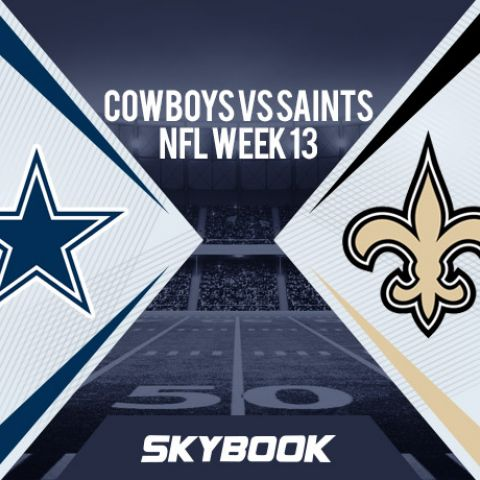 NFL Week 13 Thursday Night Football Cowboys vs Saints