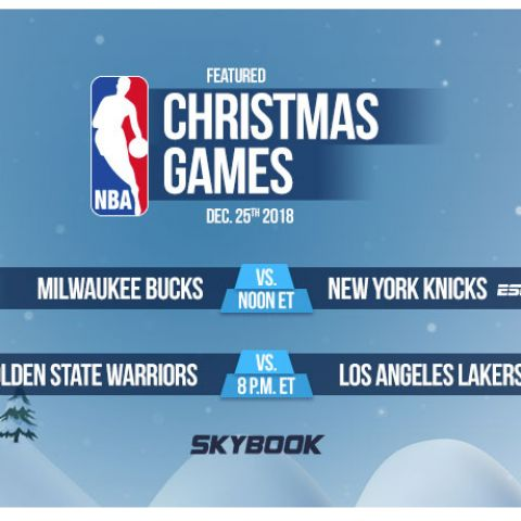 X-Mas Day NBA Betting Odds and Match Ups