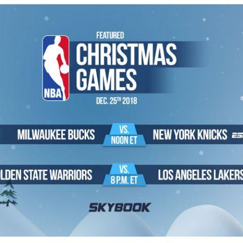 X-Mas Day NBA Betting Odds and Match Ups