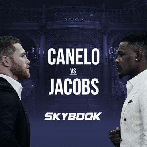 Canelo Alvarez vs Daniel Jacobs Betting Odds