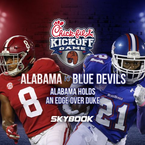 Chick-Fill-A Kickoff Game: Crimson Tide Faces Duke Blue Devils