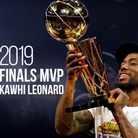 2019 Finals MVP: Kawhi Leonard