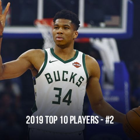 2019 Top 10 NBA Players, #2 Giannis Antetokounmpo