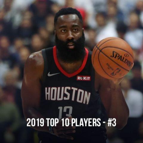 2019 Top 10 NBA Players, #3 James Harden