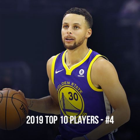 2019 Top 10 NBA Players, #4 Stephen Curry