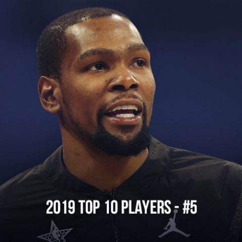 2019 Top 10 NBA Players, #5 Kevin Durant