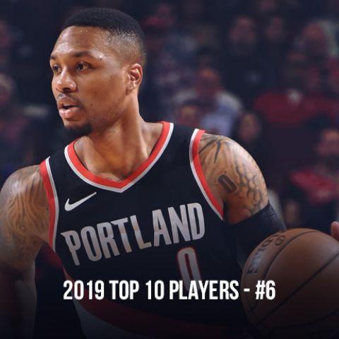 2019 Top 10 NBA Players, #6 Damian Lillard