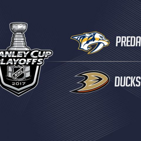 NHL Conference Finals: Nashville Predators vs Anaheim Ducks Game 1 Prediction