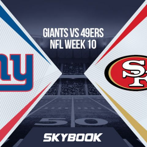 NFL Week 10 Monday Night Football Giants vs 49ers Matchup