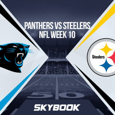 NFL Week 10 Thursday Night Football Panthers vs Steelers