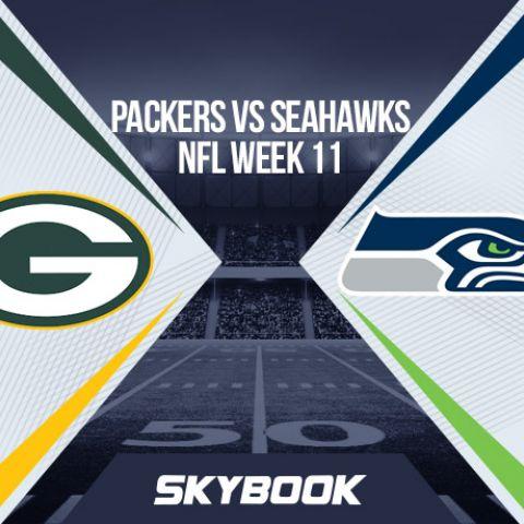 NFL Week 11 Thursday Night Football Packers vs Seahawks