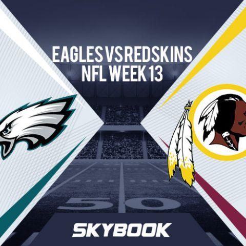 NFL Week 13: Monday Night Football Eagles vs Redskins