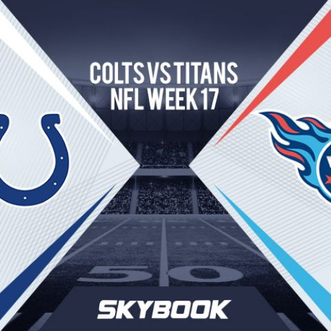 NFL Week 17: Sunday Night Football Colts vs. Titans Betting Odds