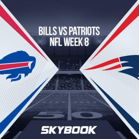 NFL Week 8 Monday Night Football: Bills vs Patriots