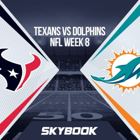 NFL Week 8: Thursday Night Football Texans vs Dolphins