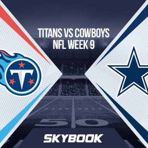 NFL Week 9 Monday Night Football Titans vs Cowboys