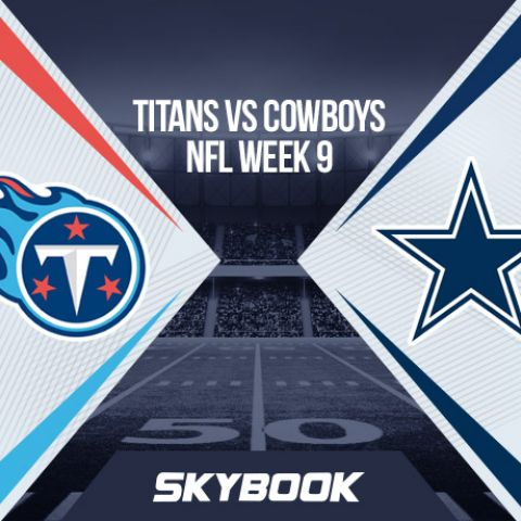 NFL Week 9 Monday Night Football Titans vs Cowboys
