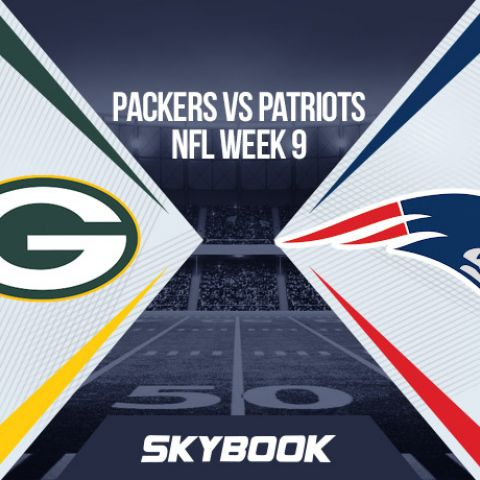 NFL Week 9 Sunday Night Football Packers vs Patriots