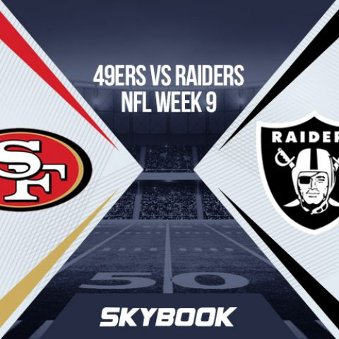NFL Week 9 Thursday Night Football: 49ers vs Raiders