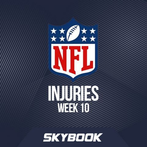 NFL Injuries Week 10