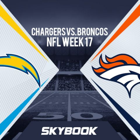 NFL Week 17: Los Angeles Chargers vs. Denver Broncos Betting Odds