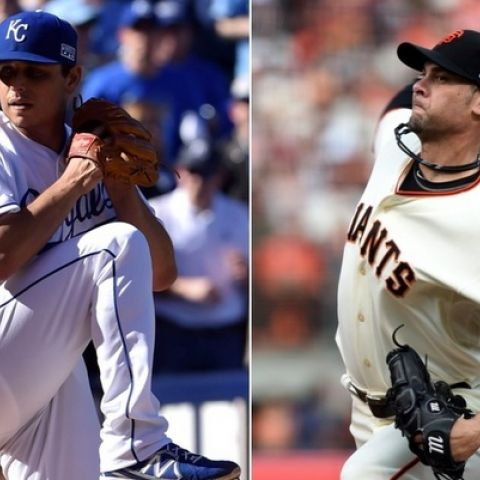 Royals vs. Giants