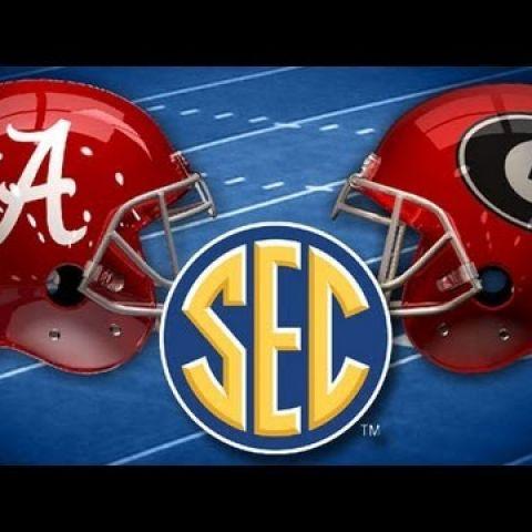 Alabama Crimson Tide vs Georgia Bulldogs