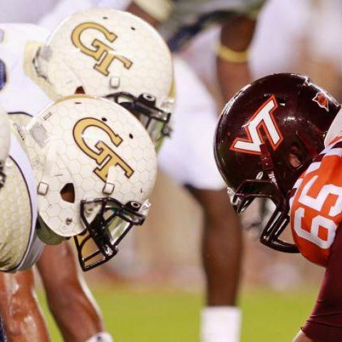 Thursday Night NCAA Football: Georgia Tech vs Virginia Tech