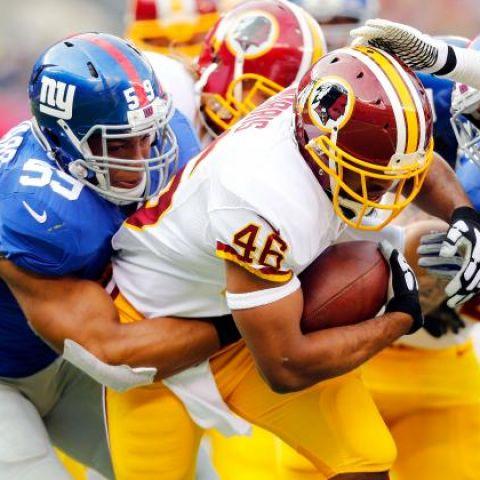 Thursday Night Football: Washington Redskins vs. New York Giants