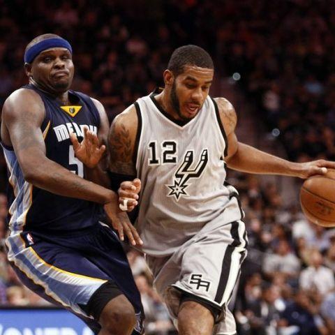 NBA Playoffs 2016 Game 2 Spurs vs Grizzlies
