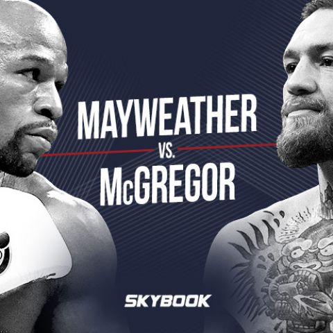 Mayweather vs McGregor Mega Fight