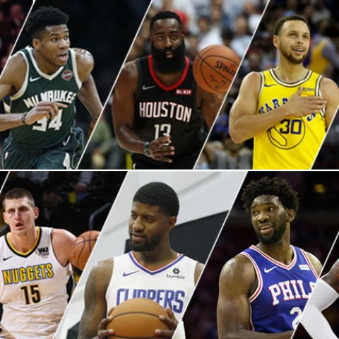 2019 Top 10 NBA Players